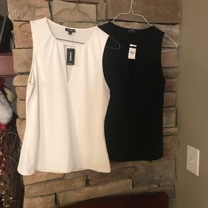 TWO Express sleeveless dressy top, NWT